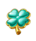 Leprechaun Riches Clover symbols