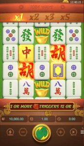 Mahjong Ways reel